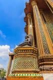Świątynny architektury Tajlandia Vertical Obraz Royalty Free
