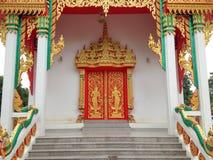 Świątynny drzwi Obraz Royalty Free
