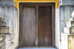 Świątynny drzwi Fotografia Royalty Free
