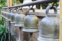 Świątynny Dzwonów Chiang Mai Tajlandia Obraz Royalty Free