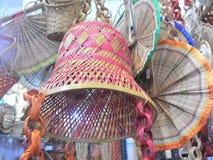 Świątynny dzwon robić od bambusa Zdjęcia Stock