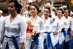 Świątynny Festiwal Odalan Fotografia Royalty Free