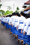Świątynny Festiwal Odalan Obraz Royalty Free