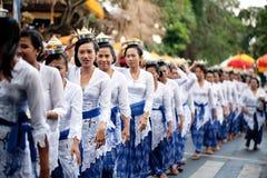 Świątynny Festiwal Odalan Zdjęcia Royalty Free