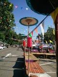 Świątynny i Piękny miejsce w Tajlandia kadzidło, kadzidłowy palnik, kadzidłowy kij Zdjęcie Stock