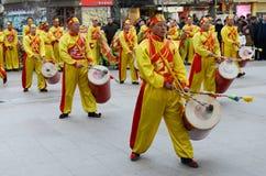 Świątynny jarmark podczas wiosna festiwalu zdjęcie royalty free