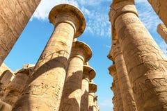 Świątynny Karnak Fotografia Stock