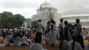 Świątynny kelaniya sri lanka Obrazy Royalty Free