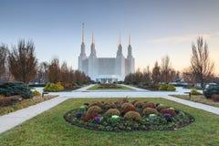 Świątynny kościół Ostatni dni świętych washington dc Zdjęcie Stock