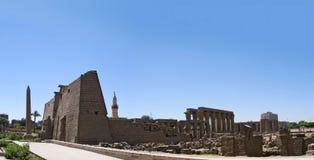 Świątynny kompleks przy Luxor, fotografia royalty free