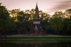 Świątynny kompleks w Sukothai, Tajlandia obrazy stock