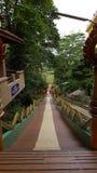 świątynny krok longway Obraz Royalty Free