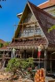 Świątynny przywrócenie w sieam Przeprowadza żniwa zdjęcia stock