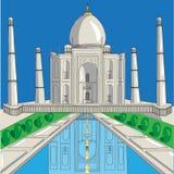 Świątynny Taj-Mahal zdjęcie stock