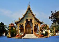 Świątynny Tajlandzki lanna Obrazy Royalty Free