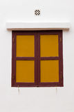 świątynny tajlandzki okno Obrazy Royalty Free