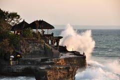 Świątynny Tanah udział na Bali obraz royalty free