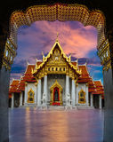 Świątynny Thailank Bangkok Fotografia Royalty Free