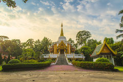Świątynny wat Bunnak Zdjęcia Royalty Free