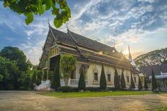 Świątynny wat Bunnak Fotografia Royalty Free