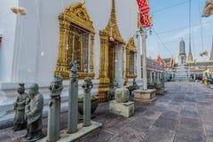 Świątynny wewnętrzny Wat Pho świątynny Bangkok Thailand Obraz Royalty Free