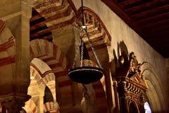 Świątynny wnętrze Fotografia Royalty Free