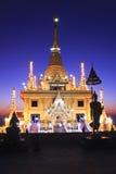 Świątynny złoto, Thailand Obrazy Royalty Free