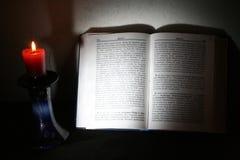 święci świeczek święte pisma Obraz Stock
