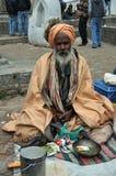 święci ind obsługują sadhu Fotografia Royalty Free