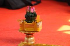 Święci ornamenty dla Tajlandzkiego michaelita wyświęcenia Obraz Royalty Free