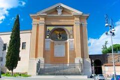 Święci schodki Rzym San Giovanni w Laterano Włochy Sc Obrazy Stock