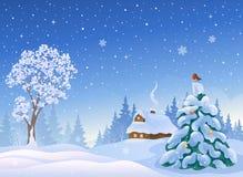 Święta śnieżni ilustracji