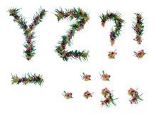 Święta abecadeł list Fotografia Royalty Free
