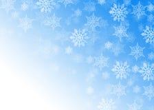 Święta backgrou płatki śniegu ilustracji