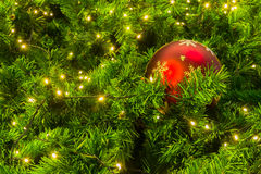 Święta bal czerwone Zdjęcia Stock