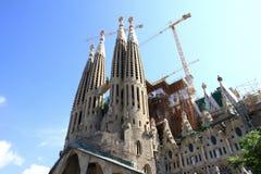 święta Barcelona rodzina Fotografia Stock