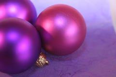 Święta baubles Obraz Royalty Free
