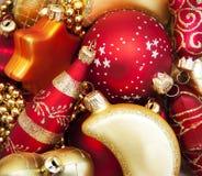 Święta baubles Obrazy Royalty Free