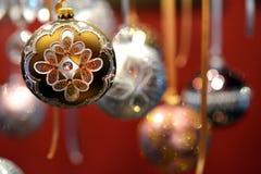 Święta baubles Obraz Stock