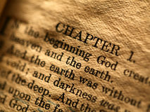 Święta biblia Zdjęcie Royalty Free