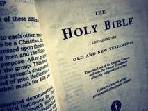 Święta biblia Fotografia Royalty Free