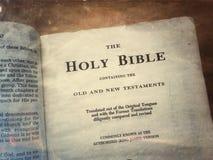 Święta biblia Obrazy Royalty Free