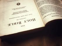Święta biblia Obraz Stock