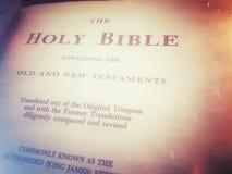 Święta biblia Zdjęcie Stock