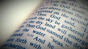Święta biblia Fotografia Stock