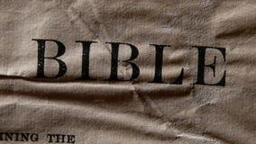 Święta biblia zdjęcie wideo