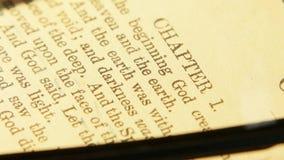 Święta biblia zbiory wideo