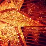 święta bożego fractal nocy obrazu gwiazda Obrazy Stock