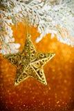święta bożego fractal nocy obrazu gwiazda Obraz Royalty Free
