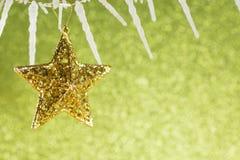 święta bożego fractal nocy obrazu gwiazda Fotografia Stock
